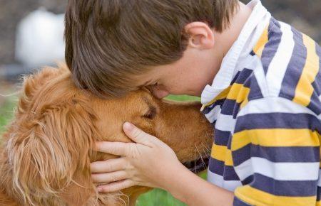 bambino con cane, come costruire una relazione importante